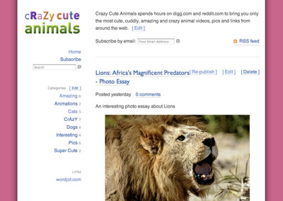 Crazy Cute Animals.com